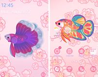 Betta fish Themes