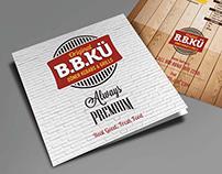 B.B.KU branding and signage