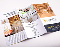 Tri-Fold Brochure for Event Management Company