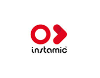 Logo | Instamic with Business Card and Letter Head