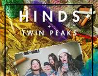 Hinds + Twin Peaks in Madrid