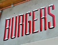 Classic Burger Haus Signs