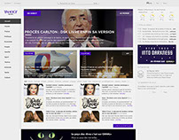 Redisign Yahoo! News France