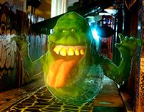 Slimer (Ghostbusters) - Digital sculpture