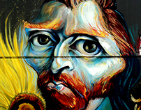 Van Gogh. On wall, 2012.