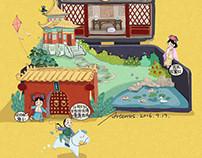 【Polly Pocket】The Fantasy Of Forbidden City