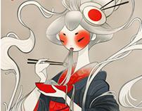 Ramen Shokudo : Illustration Décor