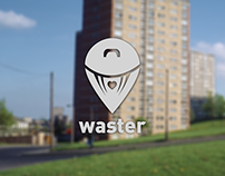 WASTER - Litter Awareness App Concept