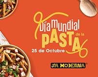 Pastas La moderna Día mundial de la pasta