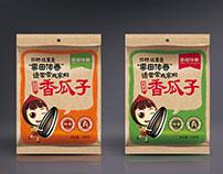 Interesting melon seeds 网络化瓜子包装