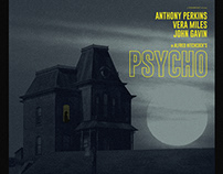 Hitchcock Exhibition- Psycho Print