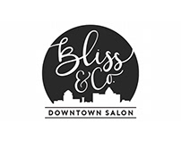 Bliss & Co. Downtown Salon | Logo Redesign