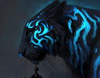 Surreal Tigers