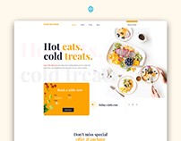 Meal By Maze Restaurant UI UX Design