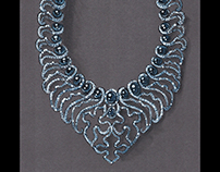 Star saphire necklace