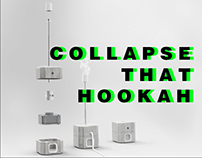 Collapsible hookah