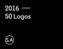 2016 — 50 logos by S.A.
