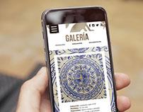 Website Museu Municipal de Ceràmica de Paterna