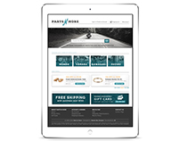 Parts N More - Website Redesign