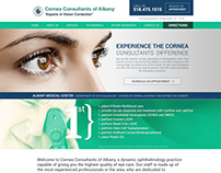 Website Re-Design for Ophthalmology hospital in Newyork