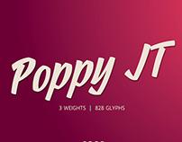 Poppy JT Typeface