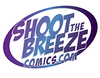 Shoot the Breeze logo work.