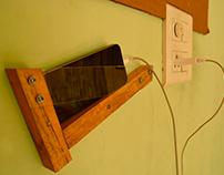 Wall mobile holder