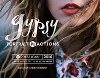 Gypsy Portrait Photoshop Actions