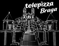 TELEPIZZA | Decoração da loja de Braga