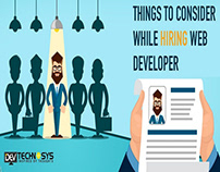 Things to Consider While Hiring Web Developer