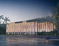 Mayotte Sport Center Competiton for Prism Architects