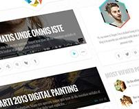 Theia - Personel Wordpress Blog Theme