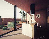 UE4 Desert House