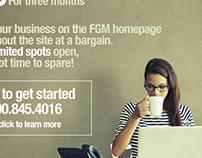 FGM Email Layout: Banner Ads