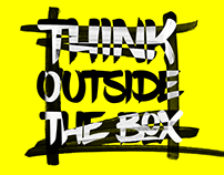 Think Outside The Box / Quote Posters
