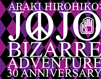 JoJo's Bizarre Adventure 30 Anniversary Tribute