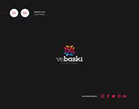 Ve Baskı Logo Design
