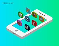 #Daily UI-04 #App Icon