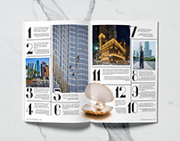 Oasis Living Magazine -Layout Design