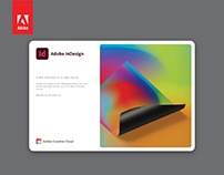 Adobe InDesign 2020 Splash Screen