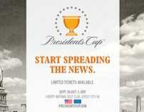 Presidents Cup 2017 Local Ad Campaign