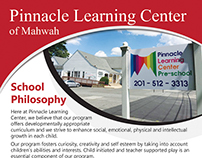 Pinnacle Learning Center Flyer Design