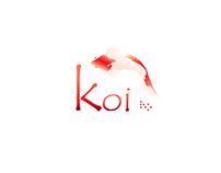 Identidad visual y ilustración  koi