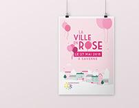 La ville en rose