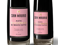 San Mauro packaging design