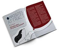 Opposites Attract - Editorial Design