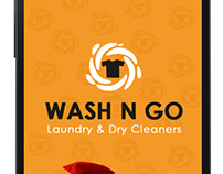 App UI Design, Laundry & Dry Cleaners