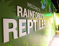 Rainforest Reptiles Exhibit Design