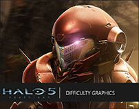 Halo 5: Guardians | Difficulty Graphics