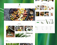 Website Design for an Organic Oil Brand